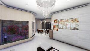 3д модель интерьера, 3d моделирование мебели
